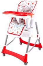 Kinderplay Krzesełko Red Applkp0011