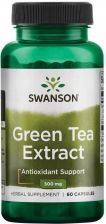 Swanson Green Tea extract (Zielona herbata) 500mg 60 kaps.