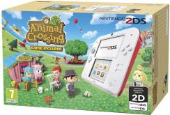 Nintendo 2DS Animal Crossing Edition biało - czerwona