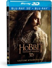 Hobbit: Pustkowie Smauga 3D (The Hobbit: The Desolation of Smaug 3D) (Blu-ray)