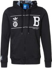 adidas Originals BROOKLYN NETS Bluza rozpinana czarny