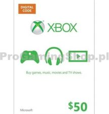 Microsoft LIVE Card 50 USD