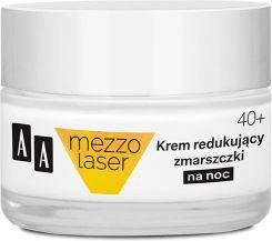 AA Mezzo Laser 40+ Krem na noc redukujący zmarszczki 50 ml