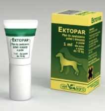 Vet-agro Ektopar 1 ml Spot-On