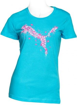 Puma Pretty Cat Tee blue atoll S
