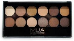 MUA Eyeshadow Palette Paleta 12 cieni do powiek Heaven and Earth