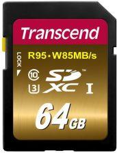 Transcend  SDXC 64GB Class10 UHS-I U3 (TS64GSDU3X)