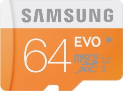 Samsung microSDHC 64GB Clas 10 Plus + SD adapter (MB-MP64DA/EU)
