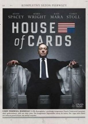 House Of Cards Sezon 1 (DVD)