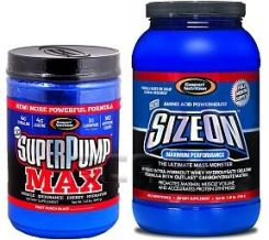 Gaspari Nutrition Super Pump Max + Size On Max 640G + 1584G [Promocja]
