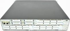 Cisco 2851 Voice Bundle, PVDM2-48, SP Serv, 64F/ 256D (CISCO2851-V/K9)