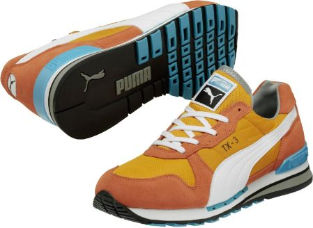Puma TX-3 tigerlily/bright gold 8,0 (42,0)