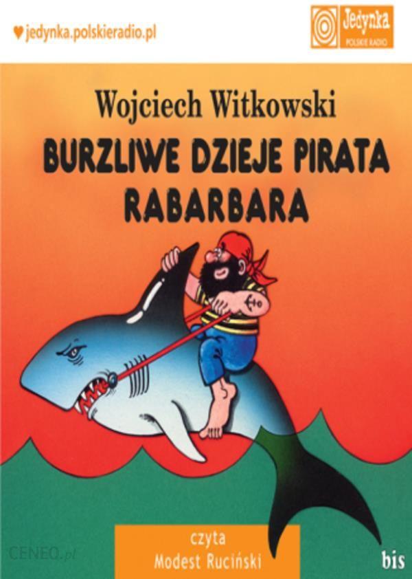 pirat rabarbar, audiobooki dla dzieci