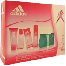Adidas Fruity Rhythm EdT 50 ml spray + Dezodorant 75 ml + Kosmetyczka