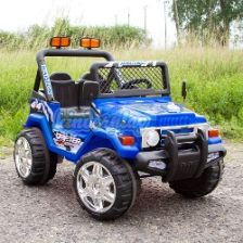 Kinderplay Jeep Akumulator Blue Kp0132