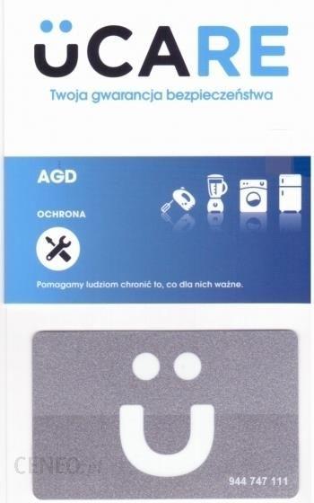 GWARANCJA uCARE AGD pakiet awaria +3 lata dla sprzętu w cenie powyżej 1400zł