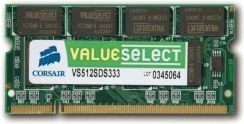 Corsair Value Select SO-DIMM 512MB PC 2700 (VS512SDS333)