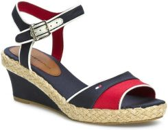 Espadryle TOMMY HILFIGER - Ilona 2D FW56816784  Midnight/Tango Red/Whisper White 403