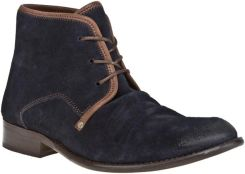 Trzewiki FLY LONDON - Watt P141854009 Navy/Dark Brown
