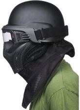 Vforce Maska Paintballowa Vf Eye Tactical Black M/S (Vf06014Bks) S