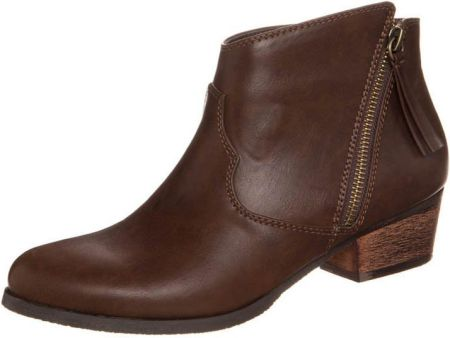 Anna Field Ankle boot brązowy