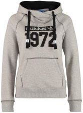 adidas Originals SUPER F Bluza z kapturem szary