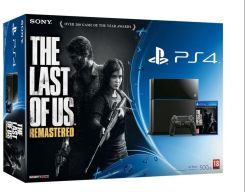 Sony PlayStation 4 500GB + The Last of Us