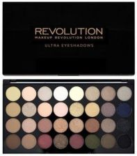 Makeup Revolution 32 Eyeshadow Palette Paleta 32 cieni do powiek Flawless