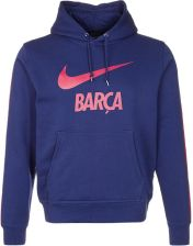 Nike Performance CLUB FC BARCELONA Bluza z kapturem niebieski