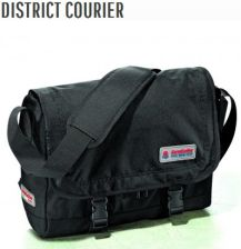 TORBA INVICTA DISTRICT COURIER JET BLACK