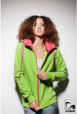 Bluza Evokaii Wake Zipper Hood - kolor zielony