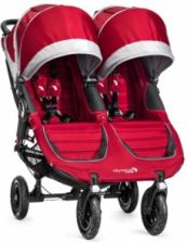 Baby Jogger City Mini Double Gt Crimson/Gray Spacerowy