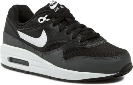 Półbuty NIKE - Nike Air Max 1 555766 014 Black/ White/ Dark Grey