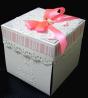 Eksplodujące pudełko - Pamiątka Chrztu Świętego 2 (dziewczynka)