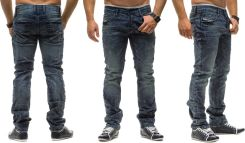 DENIM REPUBLIC 4142 - CIEMNY JEANS