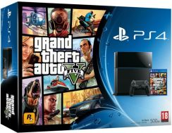 Sony Playstation 4 500GB + Grand Theft Auto V