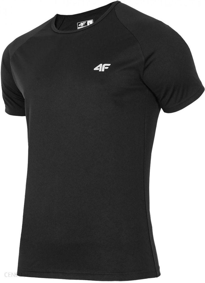 T-shirt fitness męski TSMF200 - czarny