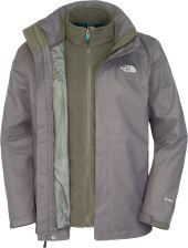 The North Face M Evolve II Triclimate Jacket Black Ink Green XL