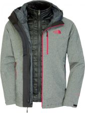 The North Face M Thermoball Triclimate Jkt TBlk Htr XL