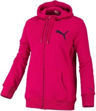 Puma SP Hooded Sweat Jacket Fleece Cerise L