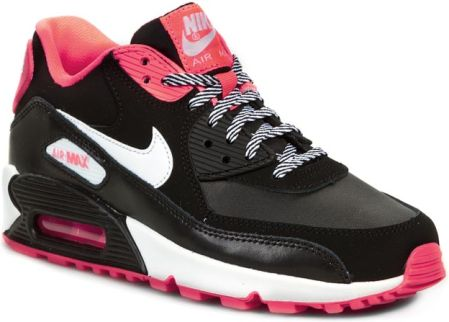 Półbuty NIKE - Air Max 90 2007 345017 064 Black/White/Hyper Punch