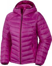 COLUMBIA Platinum 860 TurboDown Hooded Down Jacket W Groovy Pink XL