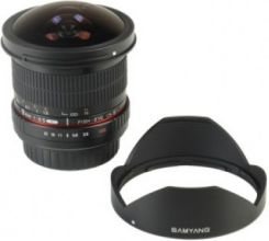 Samyang 8mm f/3.5 Aspherical IF MC Fish-Eye II (Samsung NX)