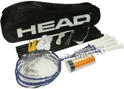 Head zestaw do badmintona Leisure Kit 201207
