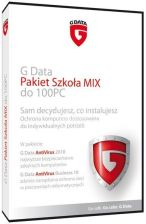G-Data PAKIET SzKOŁA MIX DO 100PC (AV BUSINESS + AV DESKTOP) (019603)