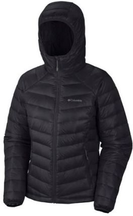 Kurtka Damska Columbia Platinum 860 TurboDown Down Hooded Jacket kol. Black