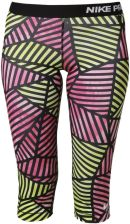 Nike Performance PRO FADE CAPRIS Rajstopy hot pink/black/white