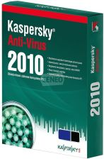 Kaspersky Anti-Virus 2010 PL BOX 5Stan/12Mies (KL1131PBEFS)