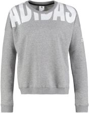 adidas Performance COZY Bluza medium grey heather