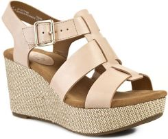 Sandały CLARKS - Caslynn Reece 261077784 Nude Leather